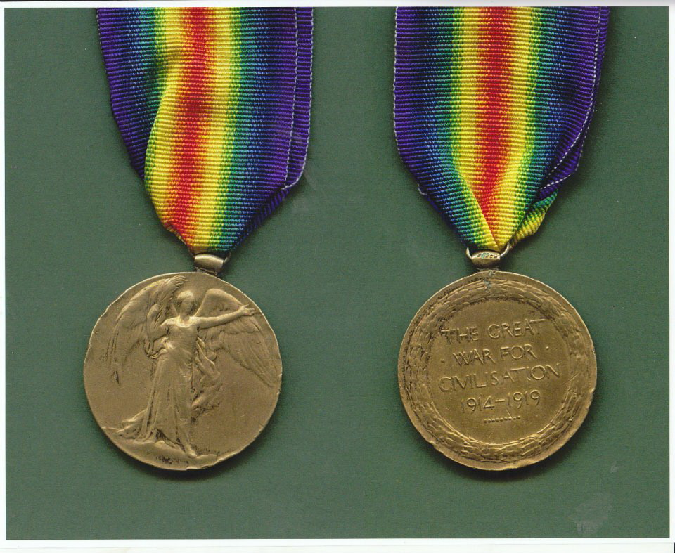 John Heaney WW1 Medals